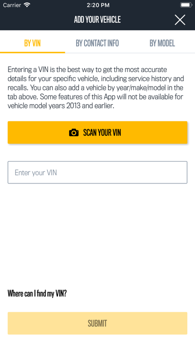 Screenshot for Jeep Vehicle Info in United States App Store