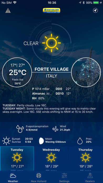 Weather forecast - New Hollandのおすすめ画像1