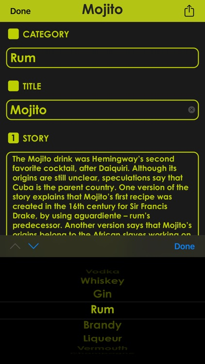 Cocktail Manual screenshot-5