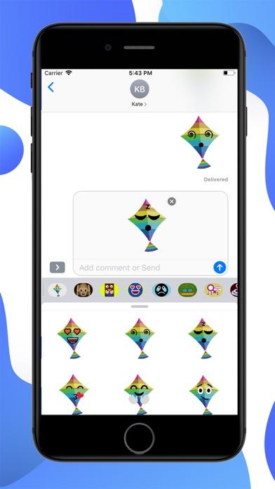 Kites Emoji screenshot 3
