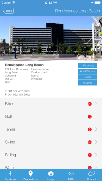 BAFSRC Members App screenshot three