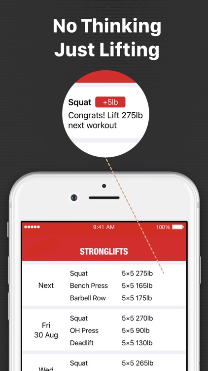 StrongLifts 5x5 Weight Lifting screenshot-8