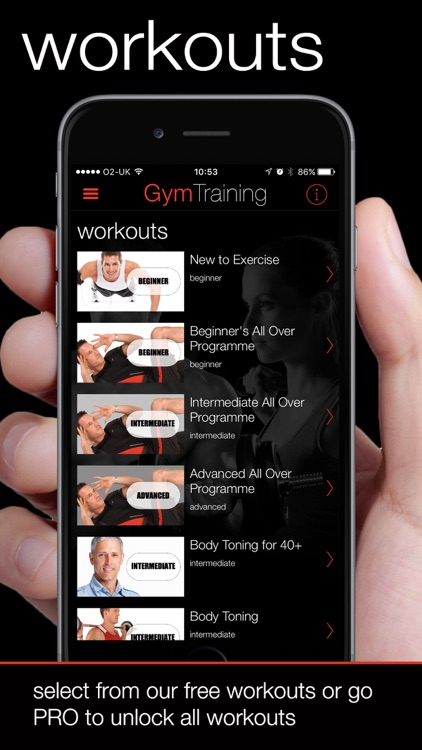 GymTraining Personal Trainer screenshot-2