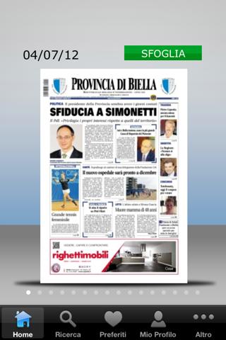 Nuova Provincia di Biella - náhled