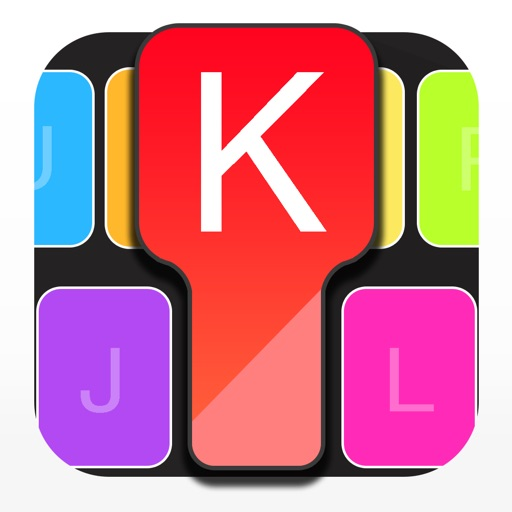 ColorKeys keyboard: Fancy Text
