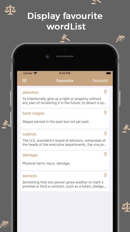 Law Dictionary : Offline screenshot-4