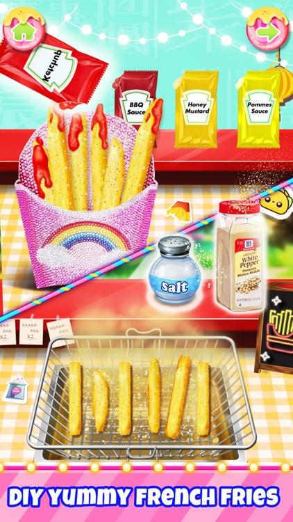 Unicorn Carnival Fair Food screenshot-0