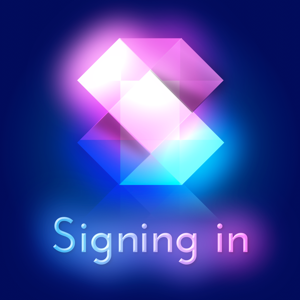 Signing in - Productivity app