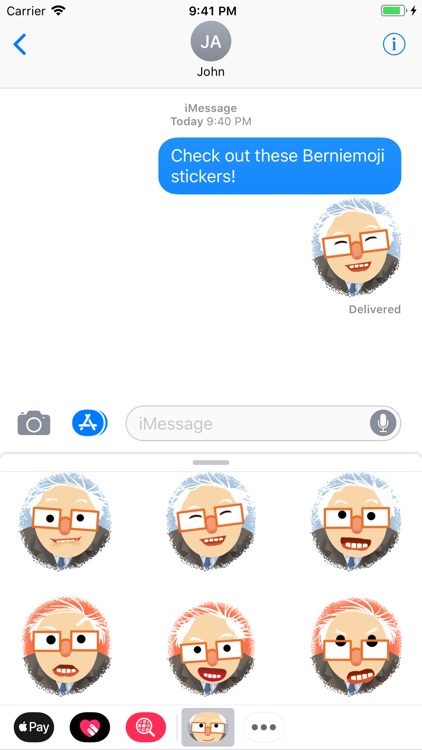 Berniemoji screenshot-1
