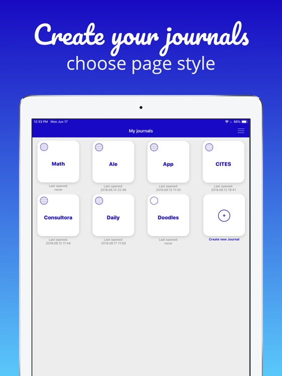 Pen & Paper - Digital journal screenshot-3
