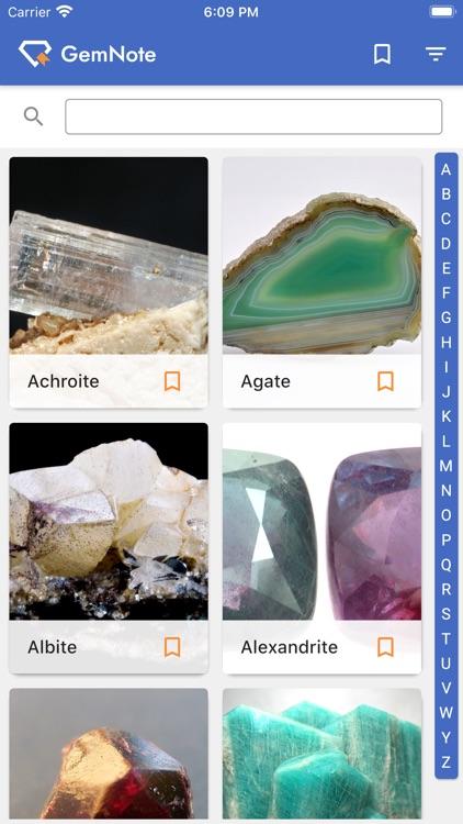 GemNote - Gemstone Guide