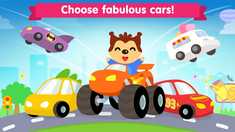 Car game for kids and toddler screenshot-0