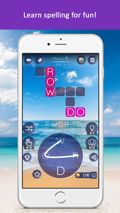 Word Beach: Fun Spelling Games screenshot three