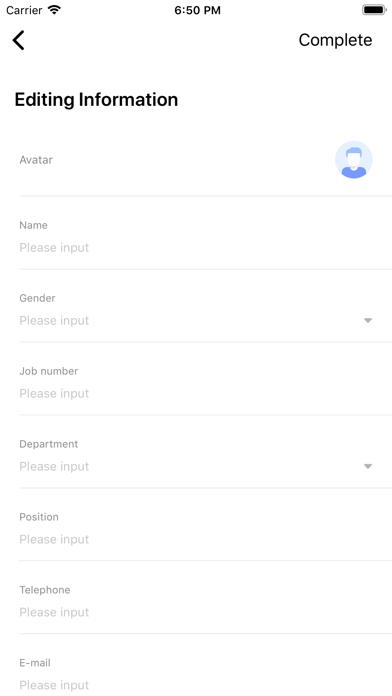 HuiKe Employee Manage screenshot 5