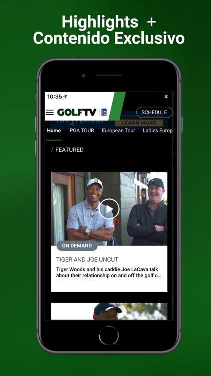 GOLFTV screenshot-3