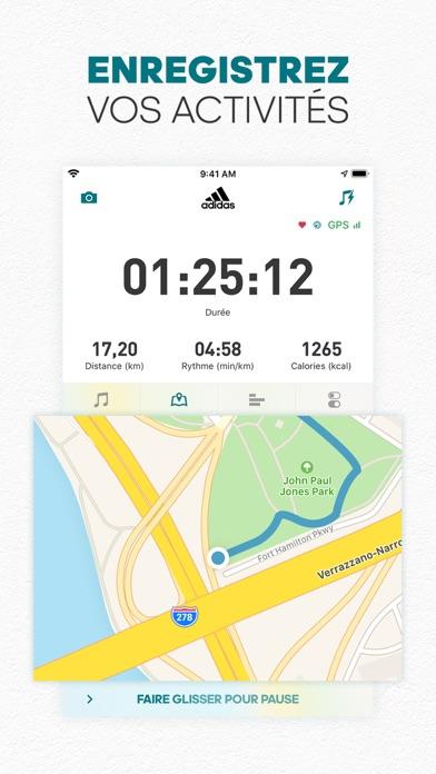 Télécharger adidas Running par Runtastic pour iPhone sur l