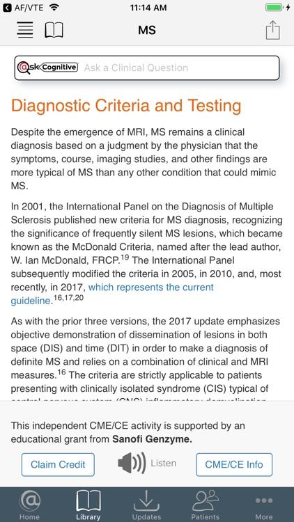 Neurology @Point of Care screenshot-3