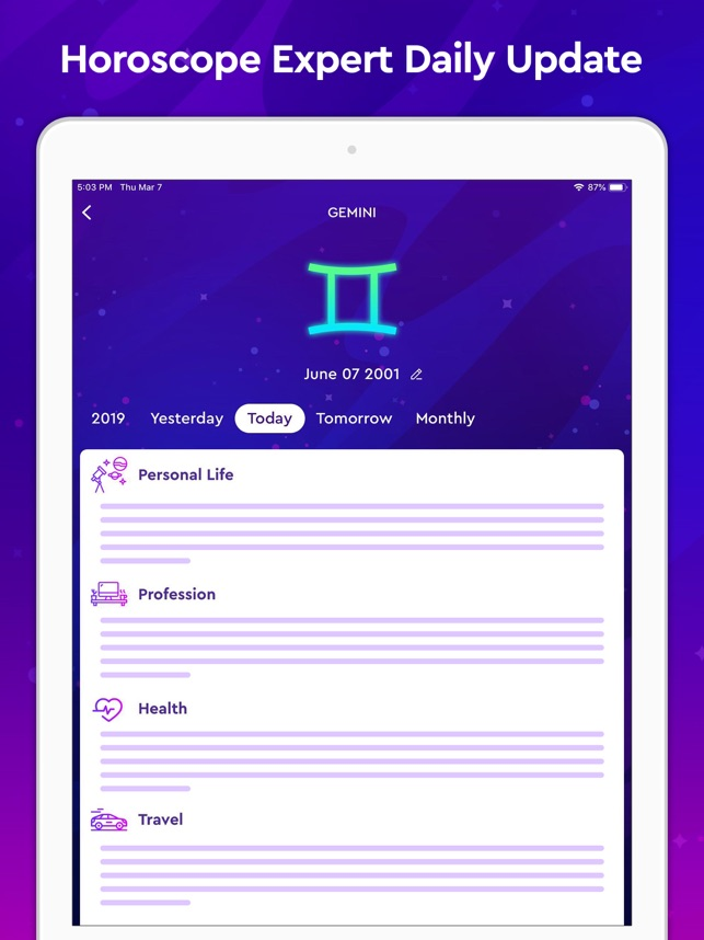 Face Reading - Horoscope + App on the App Store