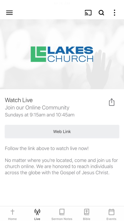 Church At The Mall App