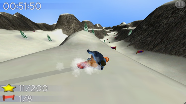 Big Mountain Snowboarding Lite screenshot-0