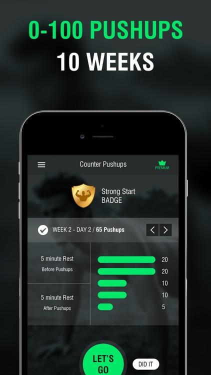 Pushups ultimate 100