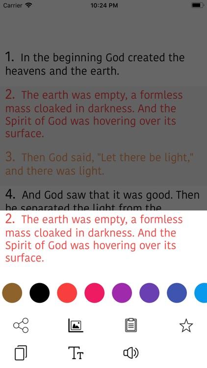 Korean Bible - Holy Bible screenshot-4