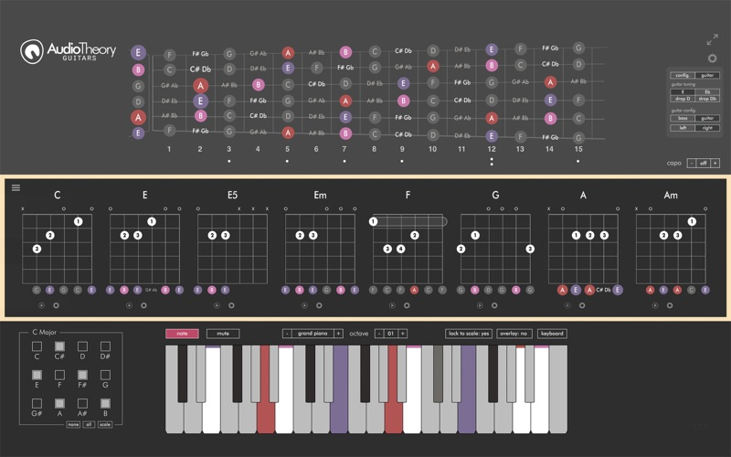AudioTheory Guitars for Mac