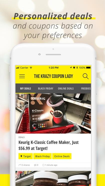 Krazy Coupon Lady: Shop Deals screenshot-5