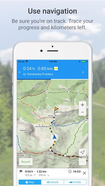 Hiking Map Poland