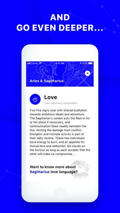 Zodianic Astrology & Horoscope Screenshot