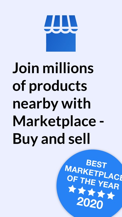 Marketplace - Buy and sell