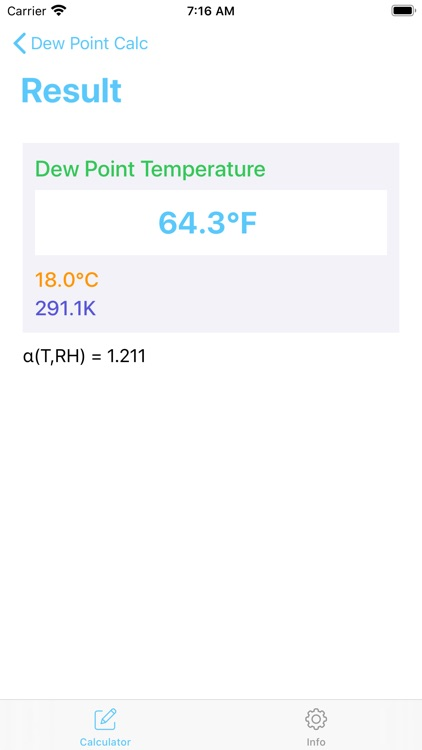 Dew Point Calculator - Calc