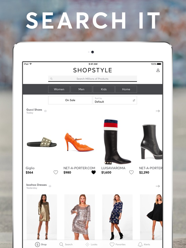 d7e2f654763  ShopStyle  Fashion   Lifestyle on the App Store