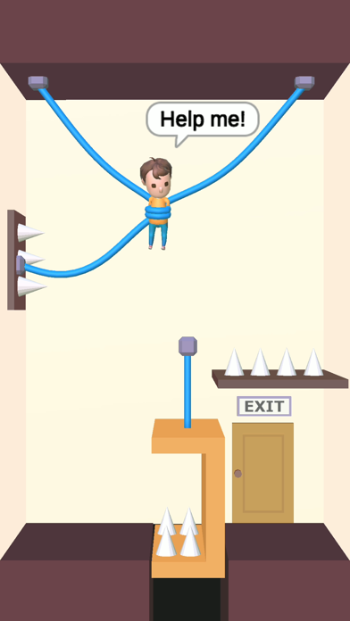 Rescue Cut - Rope Puzzle screenshot 1