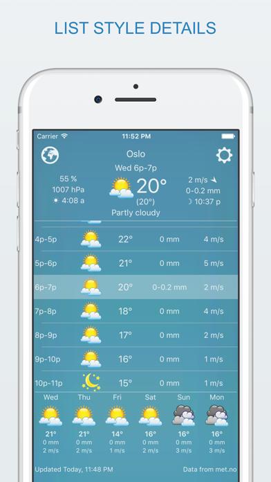 widget weather Screenshots