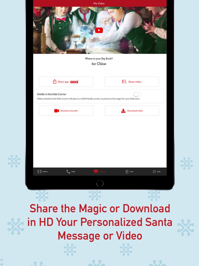 PNP – Portable North Pole™ on the App Store