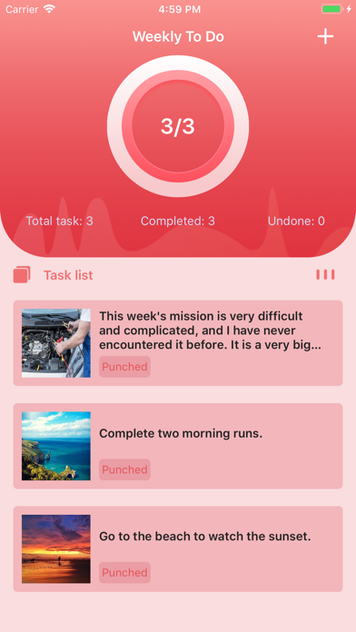 Weekly To Do - More efficiency screenshot 1