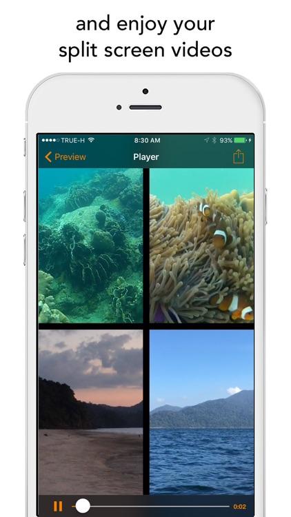 Split Screen Videos screenshot-3