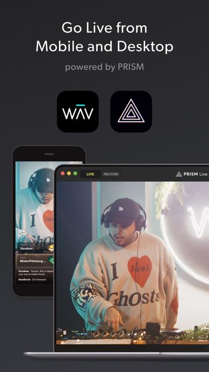 WAV - Music & Livestreams screenshot-3