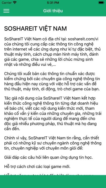 Kí Tự Đặc Biệt SoShareIT screenshot-7