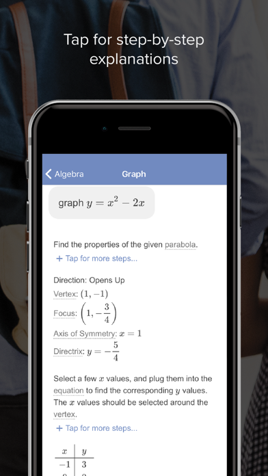 Mathway review screenshots