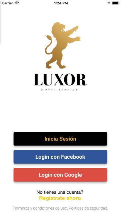 Luxor Movil ServicesCaptura de pantalla de1