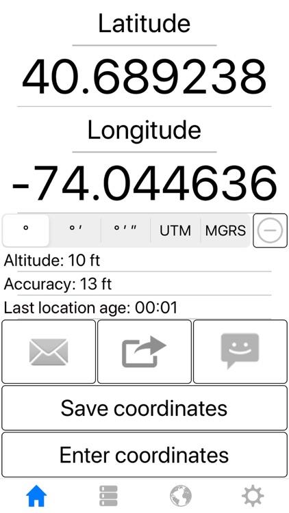 My GPS Coordinates Pro screenshot-4