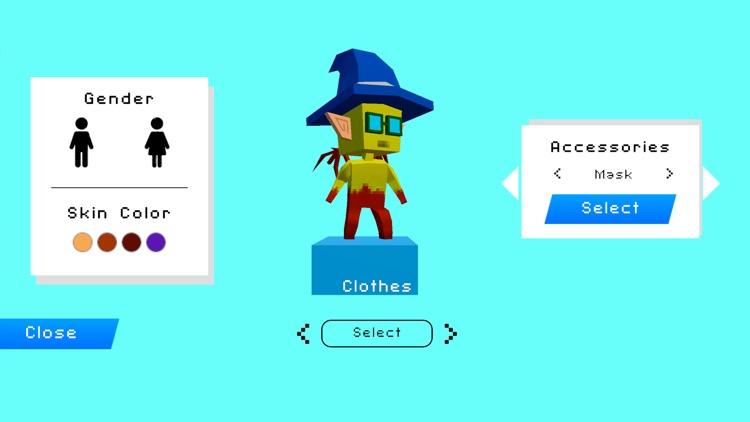 Cube build: pocket block craft screenshot-5