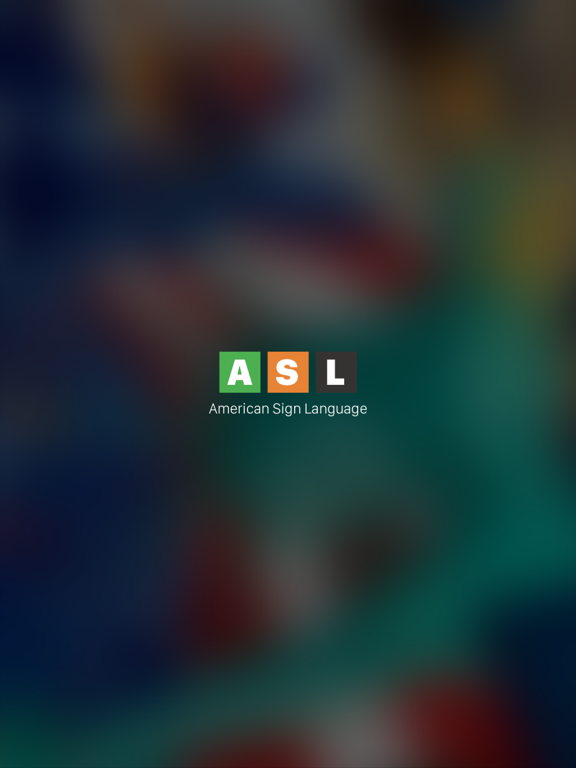 ASL American Sign Language screenshot
