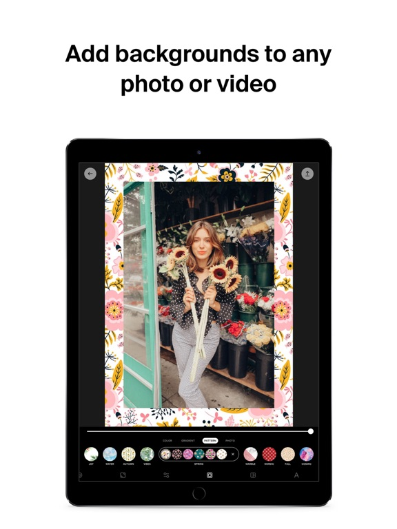 InstaSize - Photo & Video Editor for Instagram screenshot