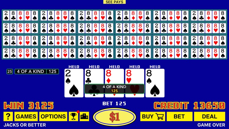 The Classic Video Poker screenshot-4