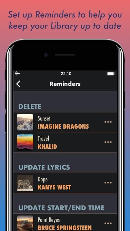 Derecom Music Player screenshot-3