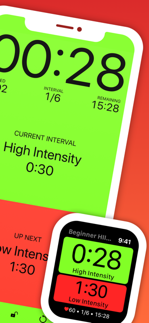 Seconds Interval Timer HIIT on the App Store
