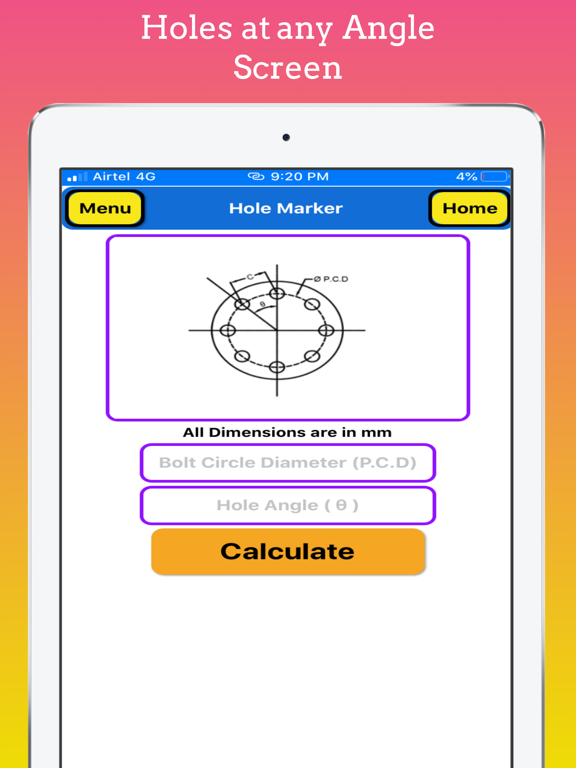 Flange Hole Marker Pro screenshot 10